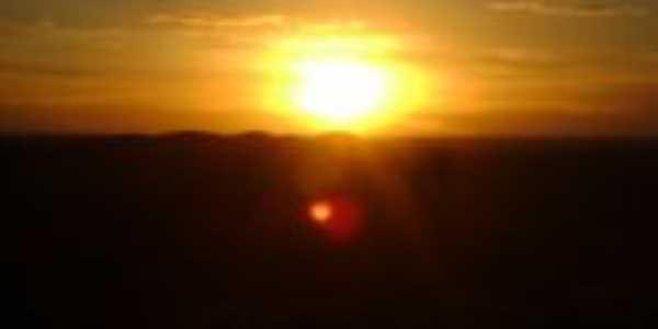 Pôr do Sol visto do Morro da Panela, Por Zé Silva