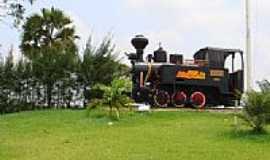 Mamanguape - Locomotiva na Usina de Açucar Monte Alegre em Mamanguape-PB-Foto:Dedé de Zé Luca
