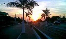 Mari - Marí-PB-Pôr do Sol no centro da cidade-Foto:OTACÍLIO BENÍCIO