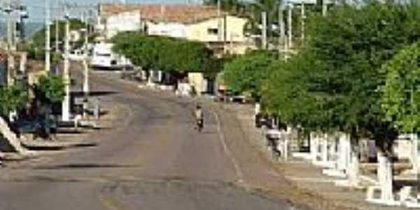 Avenida em Marizópolis-PB