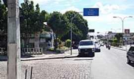 Capim Grosso - Rua central de Capim Grosso-BA-Foto:Daloco
