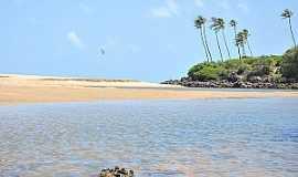 Mataraca - Mataraca-PB-Barra do Camaratuba-Foto:www.turismonaweb.com.br
