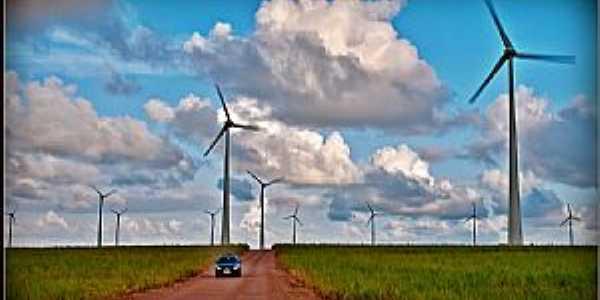 Mataraca-PB-Cataventos de Energia Eólica-Foto:RonnieMontenegro