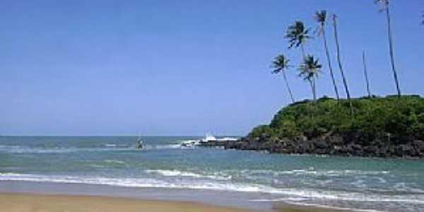 Mataraca-PB-Praia na Barra do Camaratuba-Foto:Arthur Melo