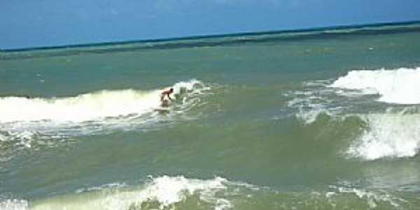 Mataraca-PB-Surf na Barra do Camaratuba-Foto:Denilson Medeiros