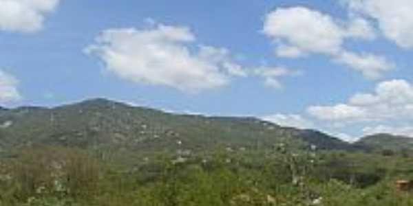 Matur�ia-PB-Montanhas da regi�o-Foto:C�lio Henrique