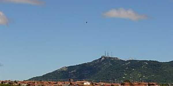 Matur�ia-PB-Vista da cidade e o Pico do Jabre-Foto:LUIZ ANTONIO FERNANDES
