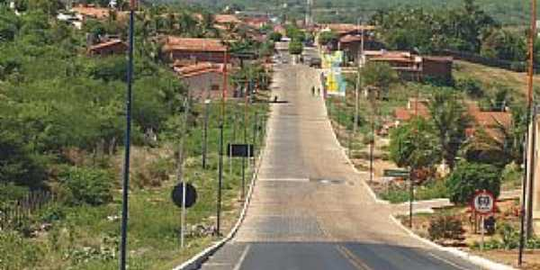 Nazarezinho-PB-Entrada da cidade-Foto:andersonbigpoint