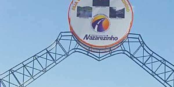 Nazarezinho-PB-Pórtico de entrada da cidade-Foto:andersonbigpoint