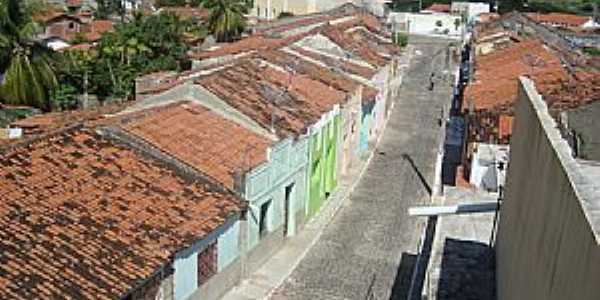 Nazarezinho-PB-Rua Velha-Foto:andersonbigpoint