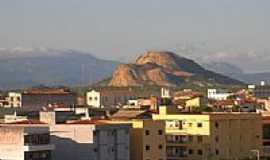Patos - Serrote Espinho Branco e parcial da cidade de Patos-PB-Foto:Rui Pontes