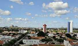 Patos - Vista parcial da cidade de Patos-PB-Foto:Walter Leite