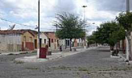 Piancó - Casario e rua de Piancó-PB-Foto:GustavoFarias