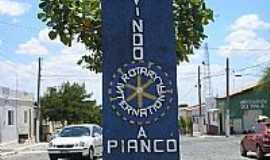 Piancó - Entrada da cidade de Piancó-PB-Foto:GustavoFarias