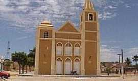 Piancó - Igreja de N.Sra.do Rosário em Piancó-PB-Foto:GustavoFarias