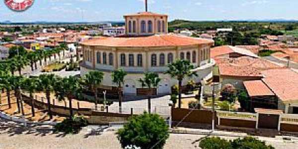 Cidade de Piancó-PB Vista da Igreja Santo Antônio.