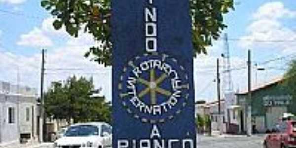 Entrada da cidade de Piancó-PB-Foto:GustavoFarias