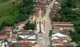 Pilões - Visão aerea do centro de Pilões, Por Geralcino