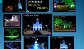 Pilões - O que vemos em Pilões a noite, Por Geralcino