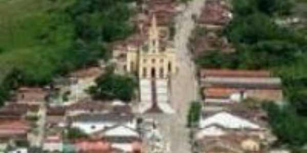 Visão aerea do centro de Pilões, Por Geralcino