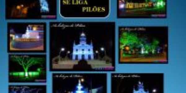 O que vemos em Pilões a noite, Por Geralcino