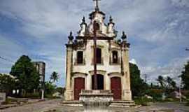 Pitimbu - Igreja de N.Sra.da Penha de França no Distrito de Taquara em Pitimbu-PB-Foto:Sérgio Passos