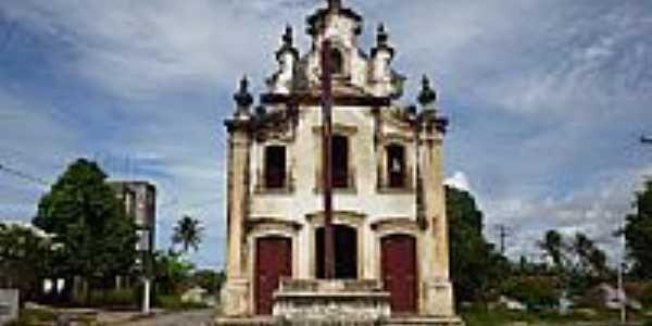 Igreja de N.Sra.da Penha de França no Distrito de Taquara em Pitimbu-PB-Foto:Sérgio Passos