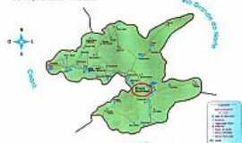 Poço Dantas - Mapa de Localização - Poço Dantas-PB