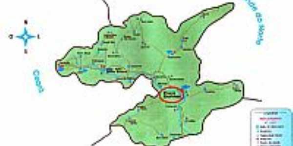 Mapa de Localização - Poço Dantas-PB