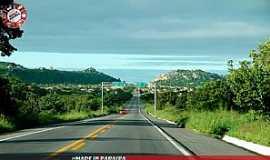 Queimadas - BR 104 - saída para região do Cariri Oriental, Vista da cidade de Queimadas PB. Foto: Egberto Araújo.