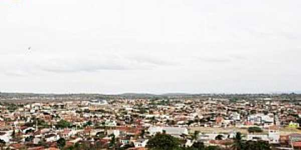 Queimadas PB - Vista da Pedra do Touro - Foto Silvano Silva