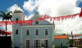 Caravelas - Igreja Matriz de Caravelas-BA-Foto:Alberto Alves
