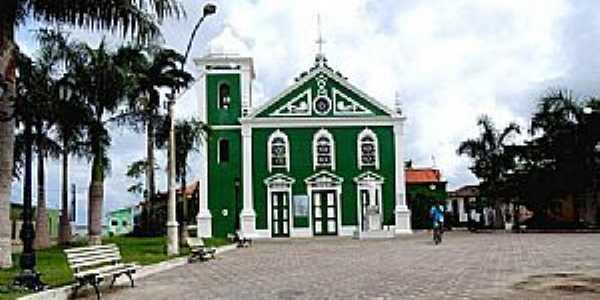 Caravelas-BA-Igreja de Santo Antônio-Foto:Eu Amo Ipatinga