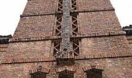 Rio Tinto - Torre da Igreja Matriz de Santa Rita de C�ssia em Rio Tinto-PB-Foto:ppedrofreitas