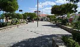 Santa Luzia - Praça central de Santa Luzia-PB-Foto:Walter Leite