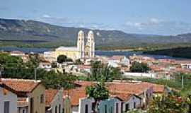 Santa Luzia - Vista parcial de Santa Luzia-PB-Foto:Walter Leite