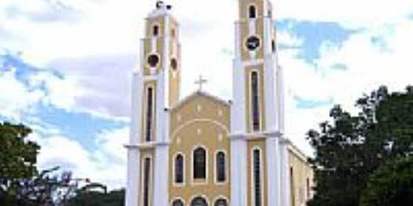 Igreja Matriz de Santa Luzia-PB-Foto:Vicente A. Queiroz