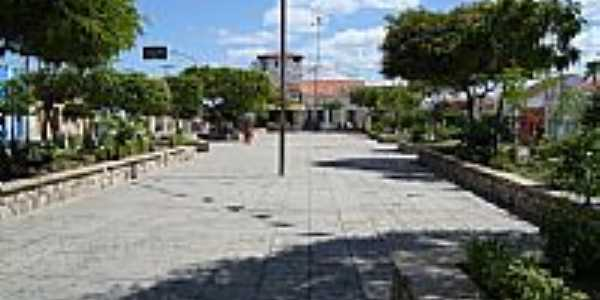 Praça central de Santa Luzia-PB-Foto:Walter Leite