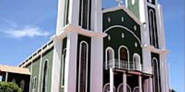 Santa Luzia-PB-Igreja de Santa Luzia-Foto:Egberto Araújo