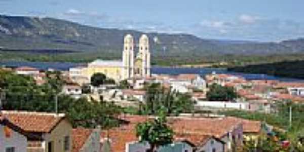 Vista parcial de Santa Luzia-PB-Foto:Walter Leite