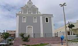 Santa Rita - Igreja de N.Sra.da Conceição no centro de Santa Rita-Foto:marcelomoura