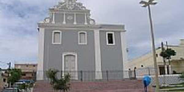 Igreja de N.Sra.da Conceição no centro de Santa Rita-Foto:marcelomoura