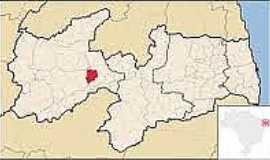 Santa Teresinha - Mapa de localização de Santa Teresinha-PB