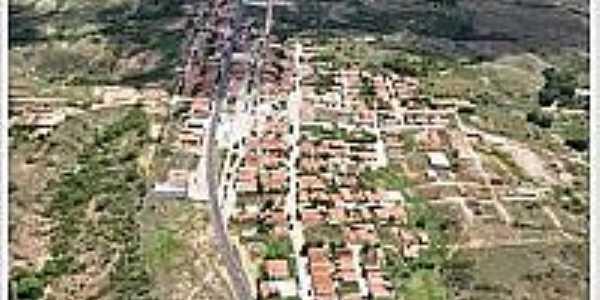 Vista aérea de Santa Teresinha-PB-Foto:portalsantateresinhapb.