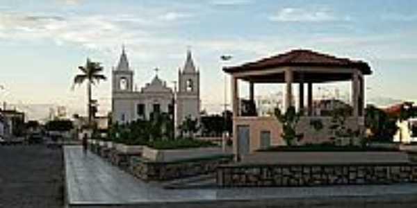 Praça da Matriz Igreja São José, por Cristina