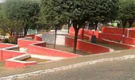 Santana de Mangueira - Praça no calçadão em Santana de Mangueira-Foto:fernandosales13