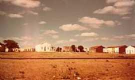 São Domingos de Pombal - Imagem antiga da cidade de São Domingos de Pombal-Foto:Evandro Queiroga