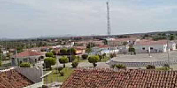 Vista parcial de São Domingos de Pombal-Foto:Evandro Queiroga