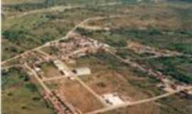 São Domingos do Cariri - Vista aérea de São Domingos do Cariri, Por Ana Paula Gomes Costa