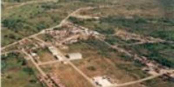 Vista aérea de São Domingos do Cariri, Por Ana Paula Gomes Costa